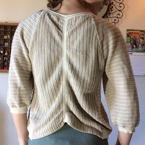 Anthropologie Sweaters - GUINEVERE Anthropologie Metallic thread Cardigan